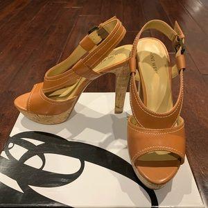 Nine West Platform Stiletto Sandals